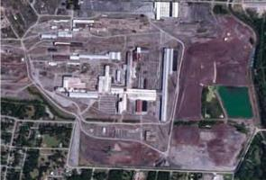 View from above of Gadsden Industrial Park